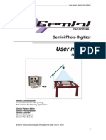 Gemini Photo Digitizer v.X9 - User Manual