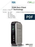 VP200 PCoIP Zero Client Introduction