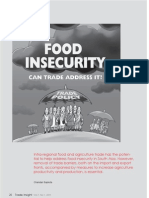 Food Insecurity in South Asia
