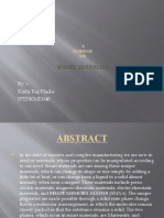 Smart Material Ppt