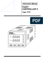 IBJSC.com - Fuji Electric Fuzzy Controller X - Type PYX - Instruction Manual