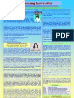 Teizang Newsletter May 15, 2011