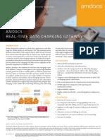 Brochure - Amdocs Data Charging Gateway