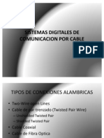 Sistemas Digitales de Comunicacion Por Cable