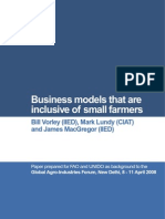 Business Models for Small Farmers