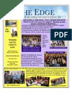 Edge Newsletter Number 8 Spring_Summer 2011