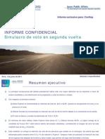 ULTIMA ENCUESTA - ELECCIONES PERU 2011