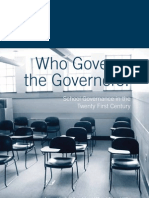 Who Governs the Governors?