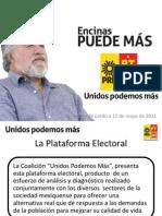 Generalidades d ela Plataforma Electoral de Encinas en el Estado de México
