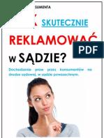 Jak skutecznie reklamować w sądzie (Poradnik konsumenta by ReklamacjaTowaru.pl)