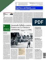 Atentado Contra Franco en La Orotava