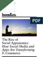 The Rise of Social Apponomics