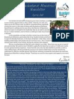 Spring 11 Newsletter
