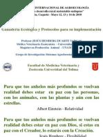 Ganaderia ecologica y protocolos para su implementación