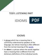 TOEFL Listening Part Presentation