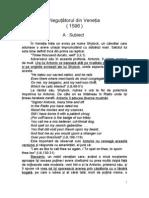 PDF Shakespeare Negutatorul Din Venetia Www.e Referat