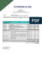 Presupuesto y Apu Inicial