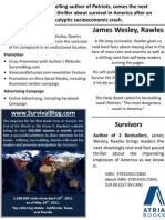 James Wesley, Rawles - Survivors Sell Sheet