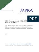 MPRA Paper 18298