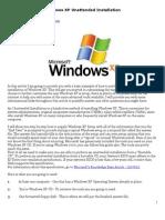 WinXP Unattend Install