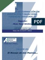 Taller Finanzas Person Ales - T03 (El Manejo de Mis Pasivos)