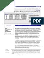 Trends in Developmental Assessment Centers