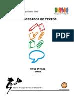 Procesador de Textos Inicial Teoria 2011