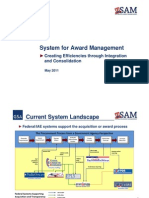 GSA - SAM (System for Award Management) Overview