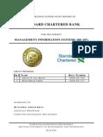 MIS - Standard Chartered Bank Pakistan