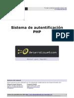 Manual Sistema Autentificacion Php