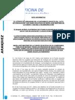 """EL LETRADO DE URBANISMO DEL AYUNTAMIENTO DESISTIÓ DEL """"ACTO DE CONCILIACIÓN"""""""