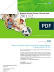 St George's Healthcare Outpatient Service Directory and Referral Guide 2011 / 12