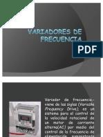 VARIADORES DE FRECUENCIA