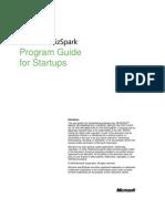 BizSpark Startup Program Guide