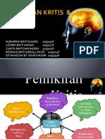 PEMIKIRAN KRITIS  & KREATIF