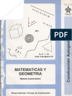 as y Geometria Para La Construccion