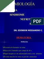 HEMATURIA - SINDROME NEFRÍTICO AGUDO