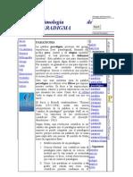 Etimología de PARADIGMA y nuevos paradigmas