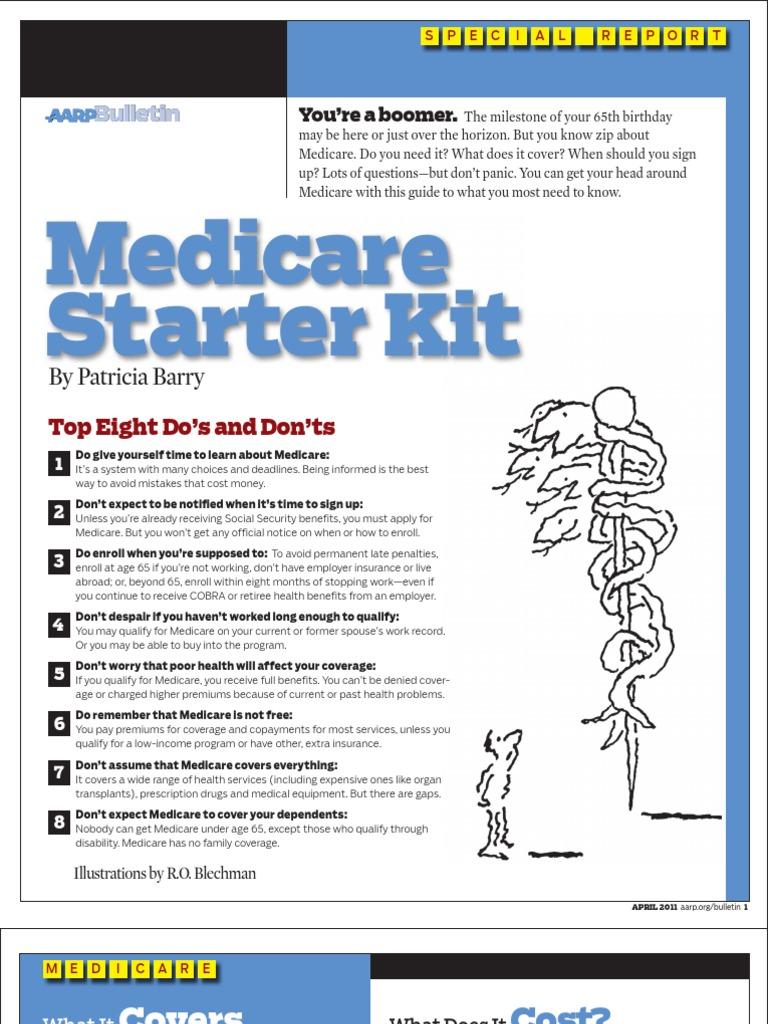Aarp Medicare Starter Kit English Medicare Part D Medicare (united States)