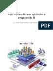 04_Normas y Est and Ares de Proyectos de TI