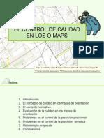 El Control de Calidad en Los o Maps