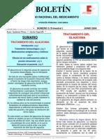 Documento del Servicio Cántabro de Salud sobre el tratamiento del glaucoma