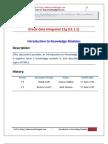 ODI Knowledge Module Introduction