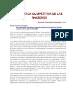 5 Ventaja Competitiva de Las Naciones