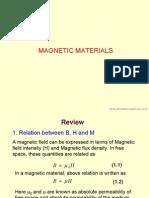 Dia Para Magnetic Materials