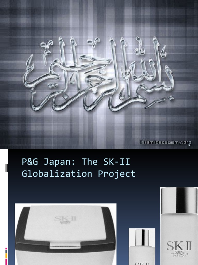 pg japan the sk ii globalization project essay The census data from your nation provides the raw materials for literally thousands of research papers (japanese cult responsible for sociology project.