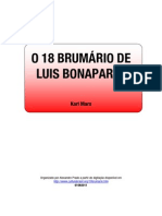 O 18 BRUMÁRIO DE LUIS BONAPARTE - K.MARX - 030611