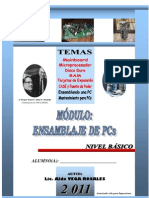 Manual de Ensamblaje de Pcs