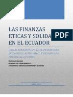 Finanzas Eticas y Solidarias en el Ecuador