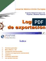 Logísitica exportación Marc Porta - PIAPYME06
